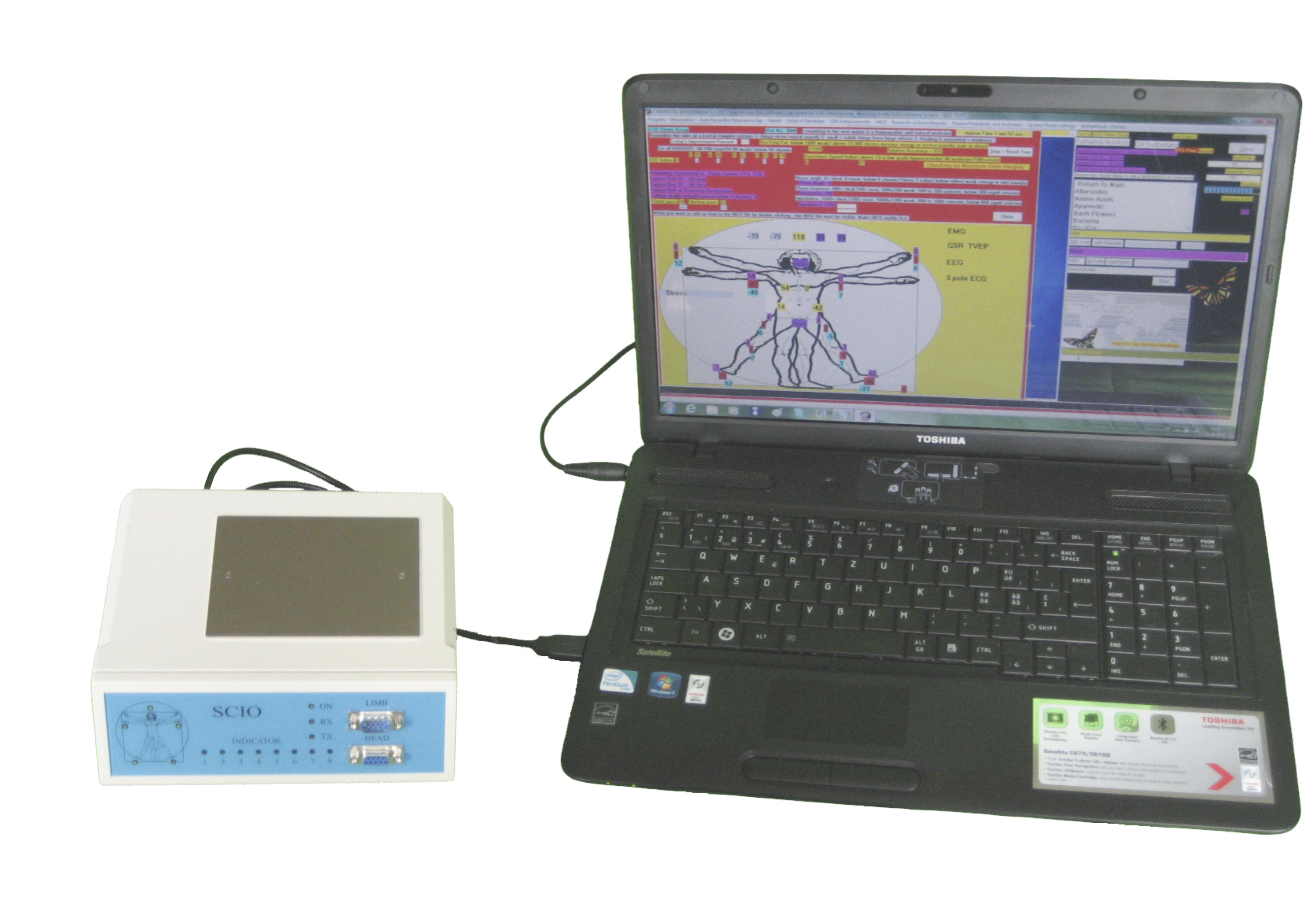 SCIO Biofeedback System